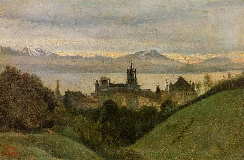 Lausanne, Corot
