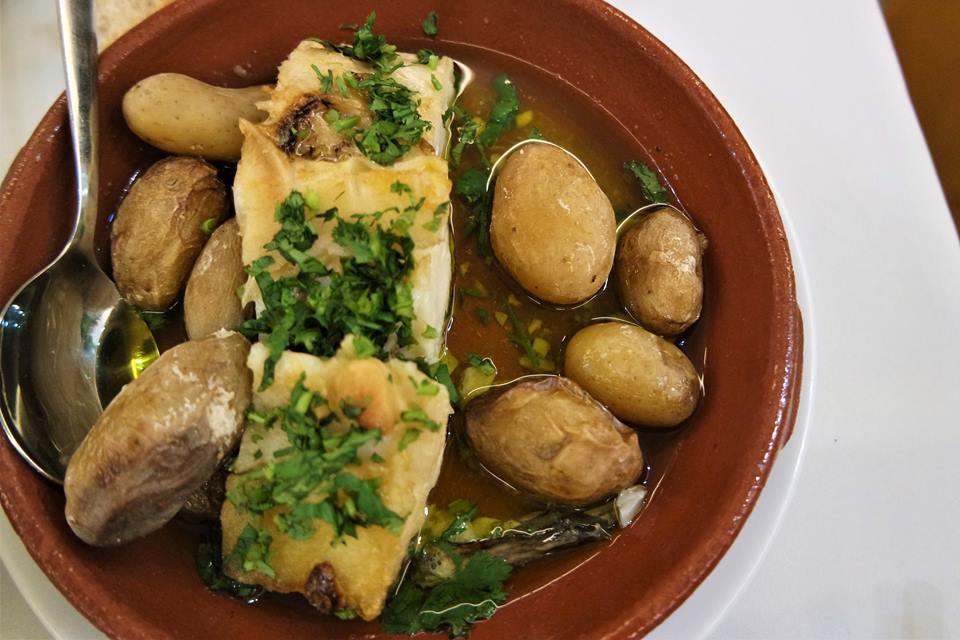 Bacalao al horno, gastronomía de Portugal