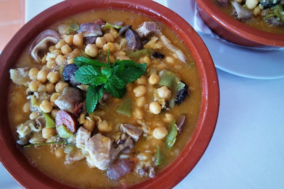 Gastronomía de Portugal, estofado de El Alentejo