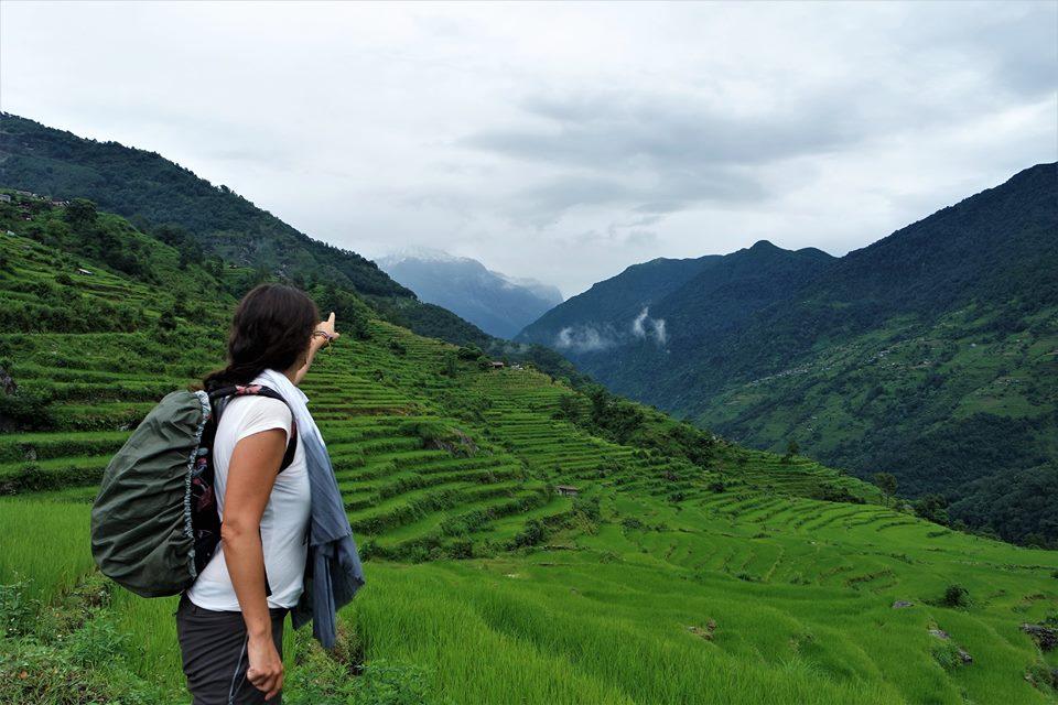 Subiendo al Annapurna
