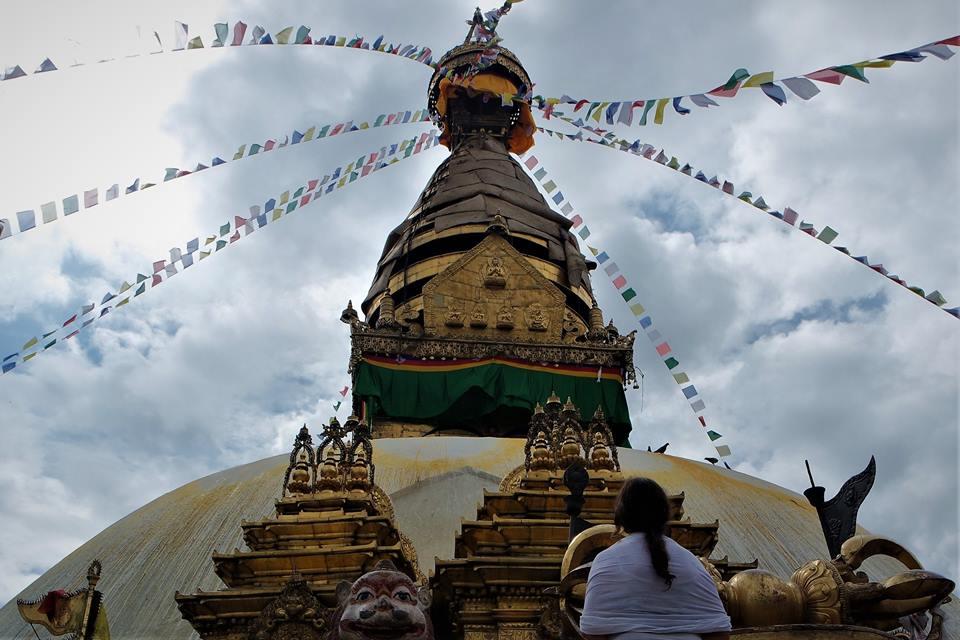 Templo de los monos, valle de Katmandú
