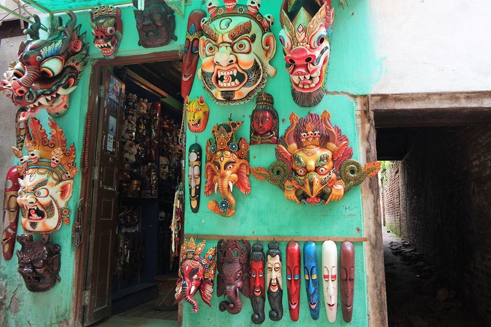 Tienda de máscaras, Patan