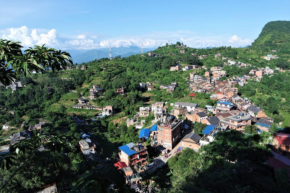 Bandipur, vistas desde la colina
