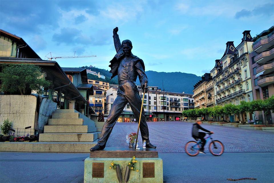 Estatua de Freddie Mercury, Montreux