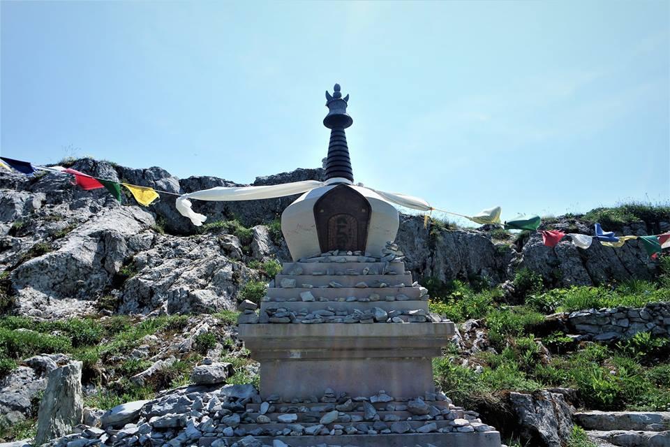 Pagoda budista en Rochers-de-Naye