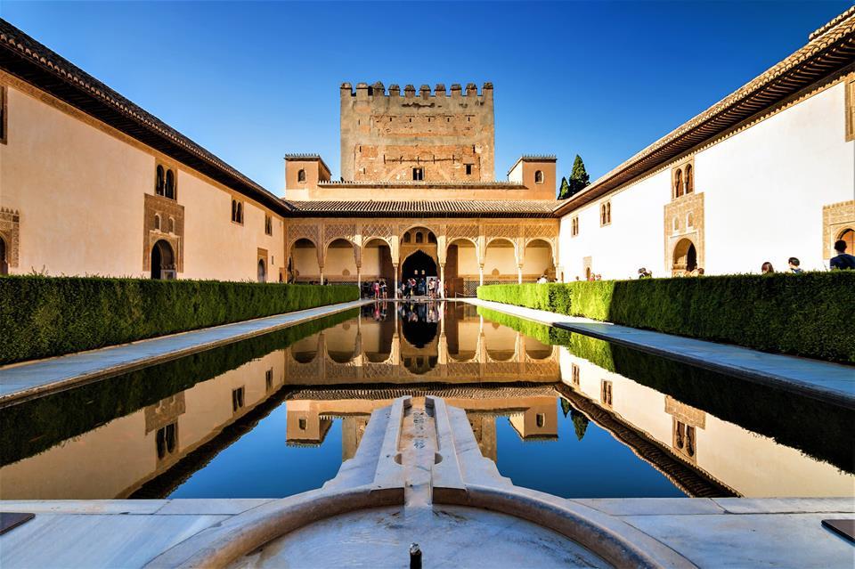 Patio de los Arrayanes, Granada la ciudad más bonita del mundo