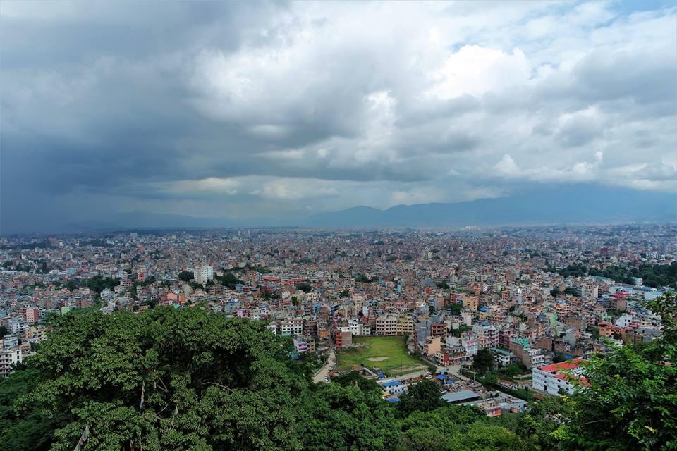 Vistas de Katmandú