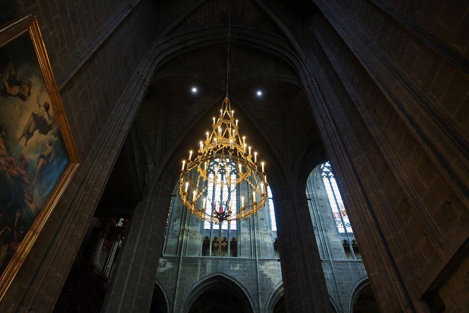 Interior de la Catedral de Narbona