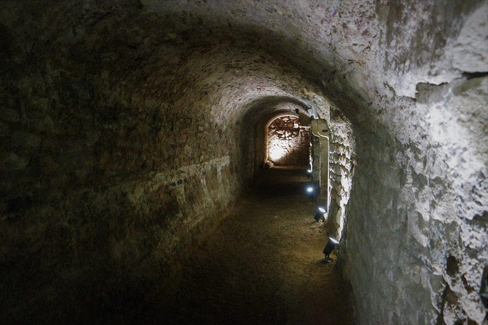 Pasadizos del Horreum Romano en Narbona