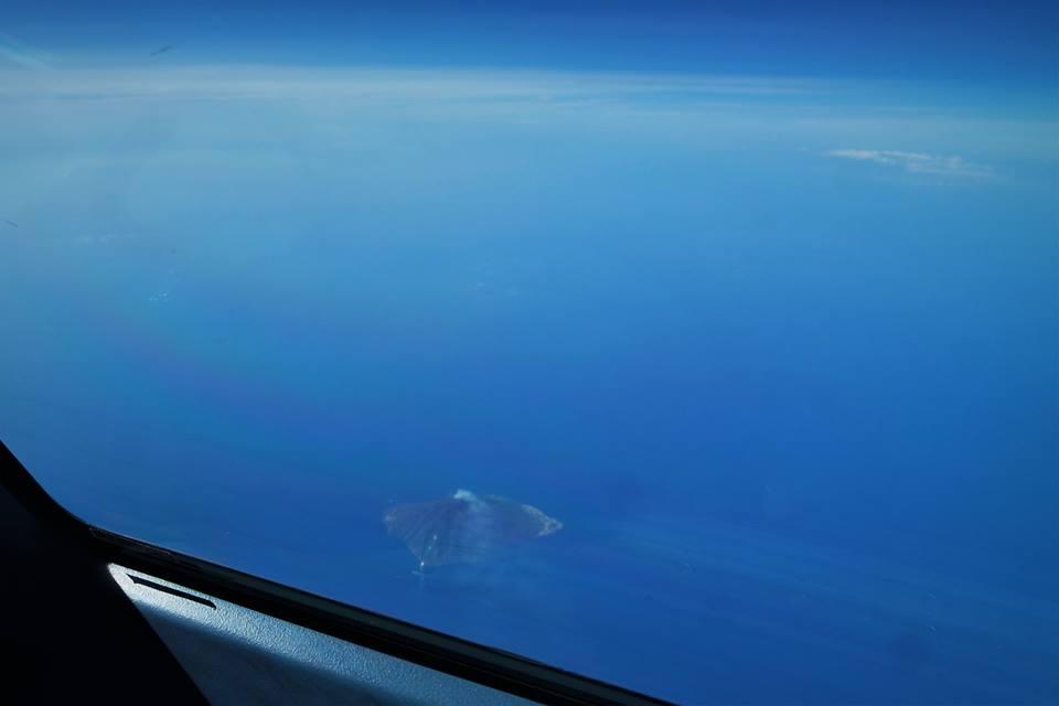 Stromboli desde el avión