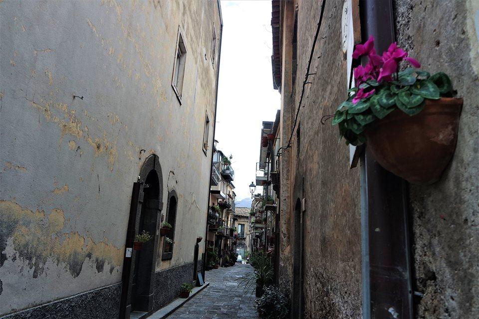 Calles de Randazzo, Sicilia