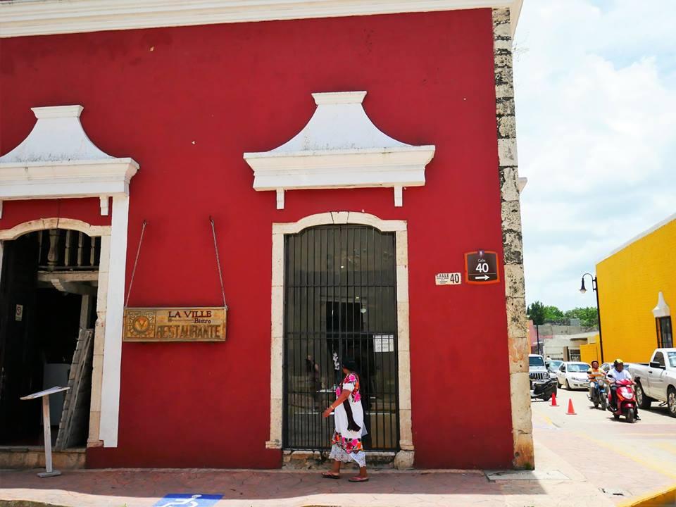 Las calles típicas de Valladolid en México