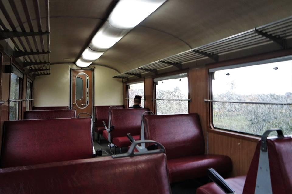 Vagón del tren a Randazzo