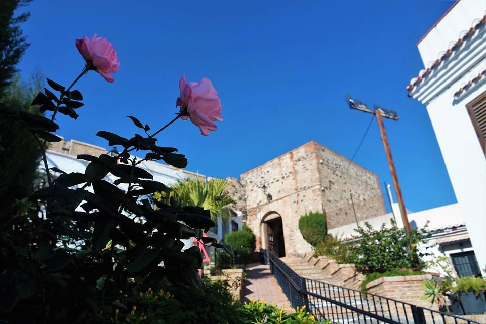 Acceso al castillo de Salobreña