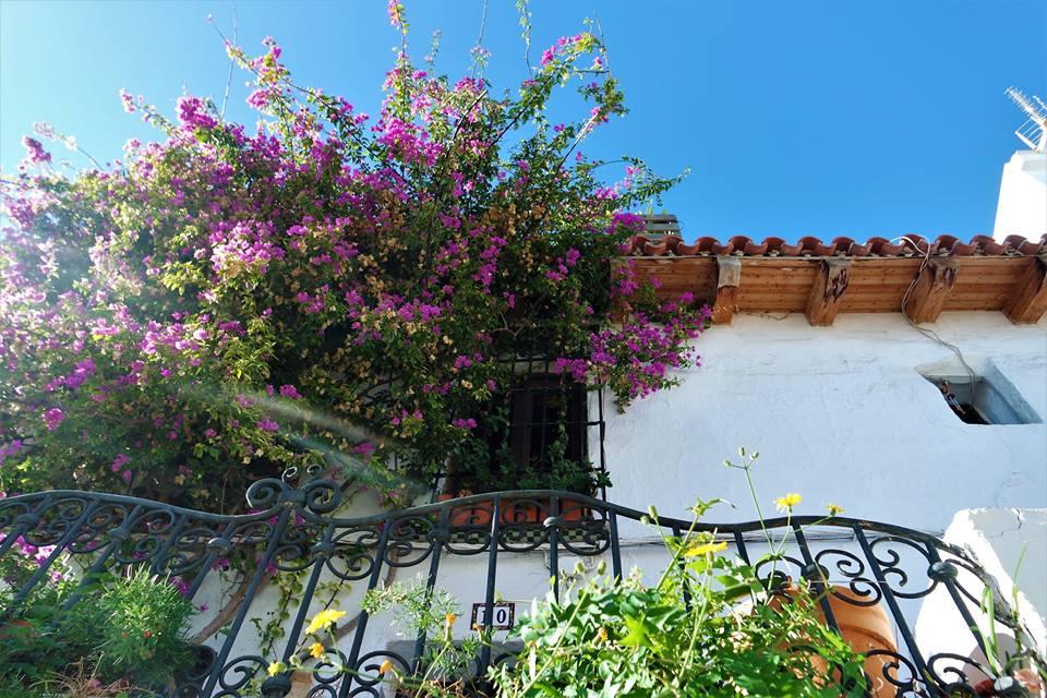 Balcón, casas de Salobreña