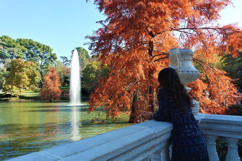 Estanque del Palacio de Cristal, los rincones más bonitos de Madrid