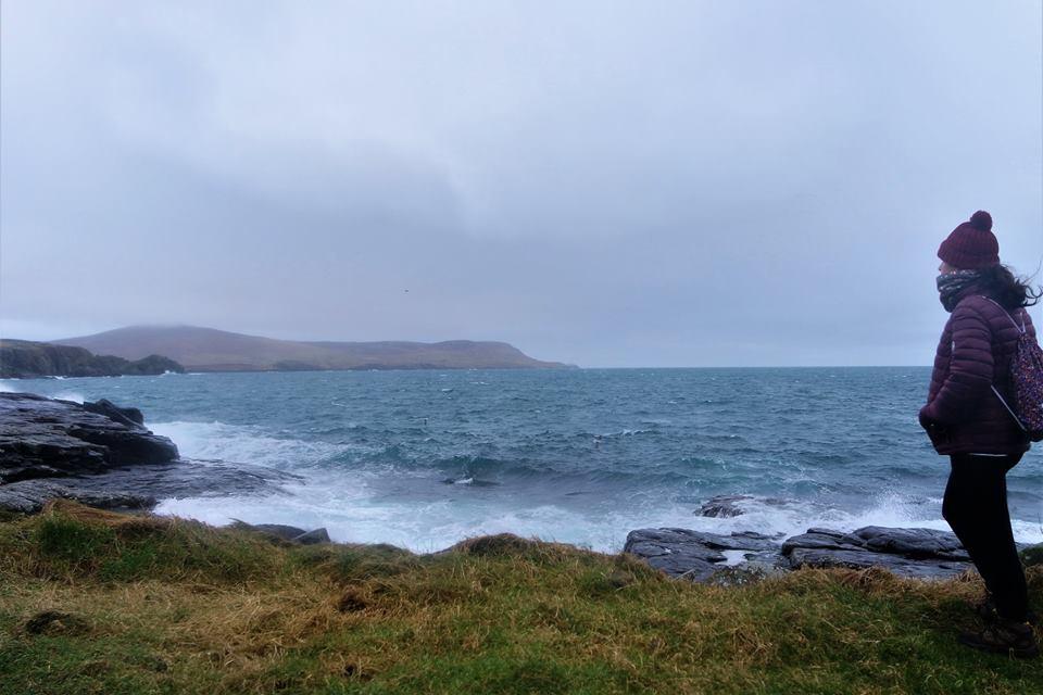 Mar del Norte en Escocia