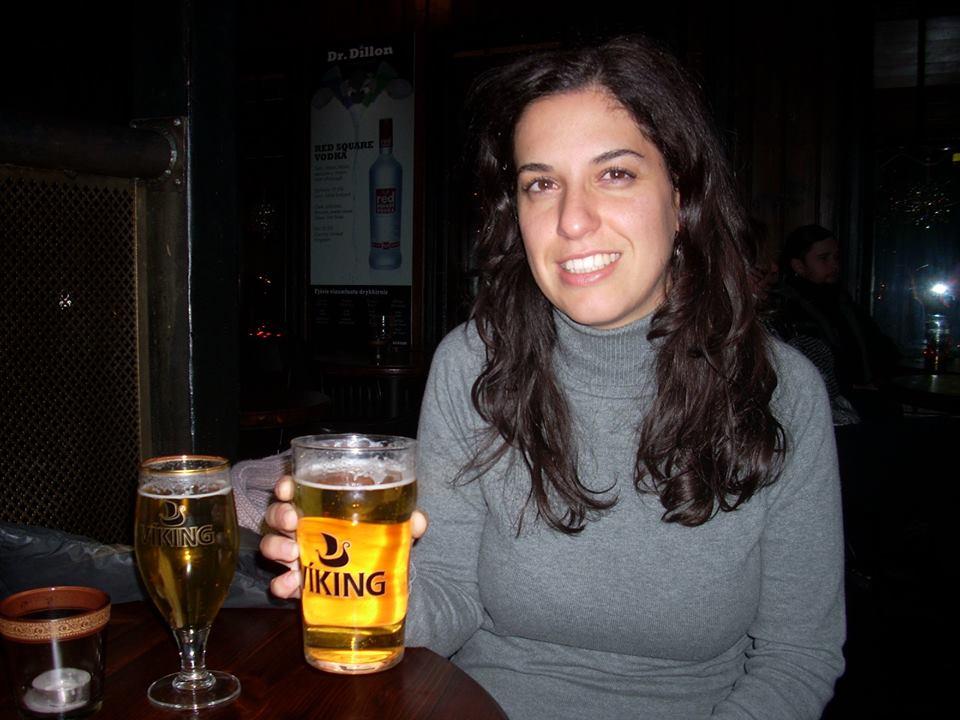 Una cerveza viking en un pub de Reikiavik