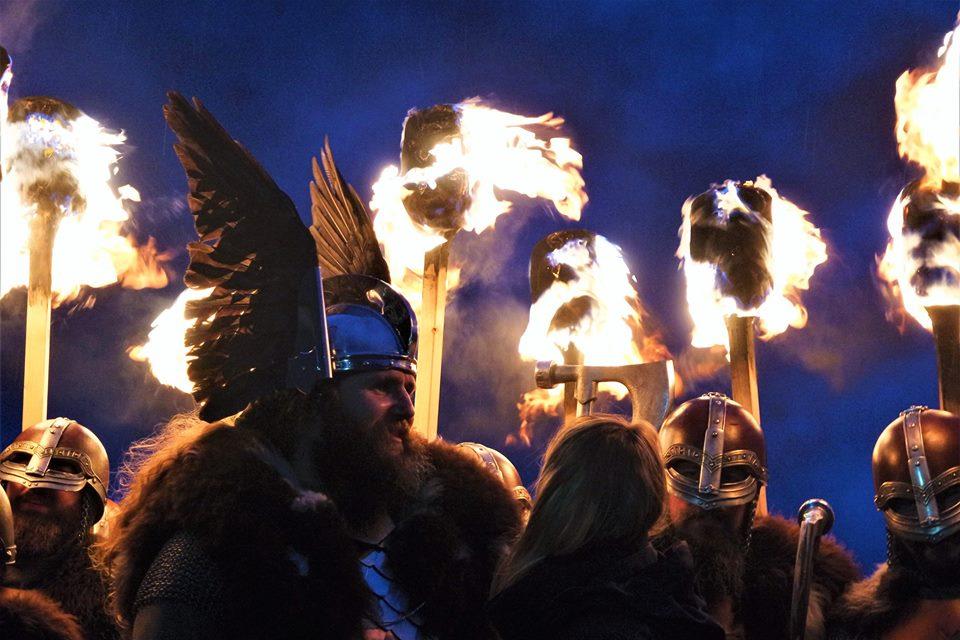 Vikingos, Up Helly Aa