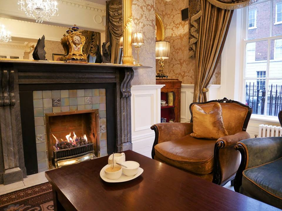 Buswell Hotel, alojamiento en San Patricio en Dublín