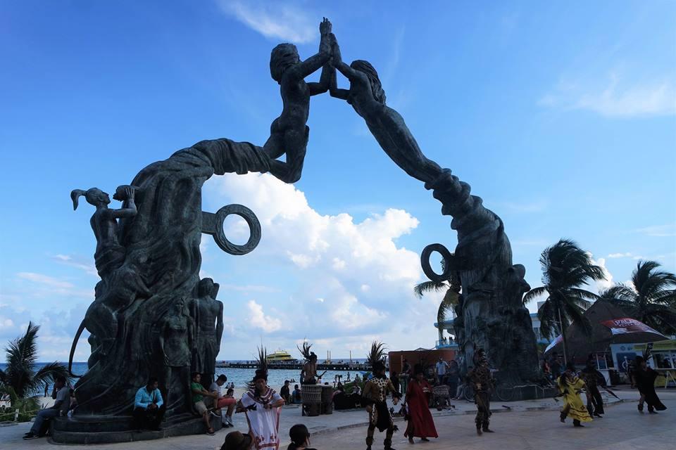 Esculturas, Playa del Carmen