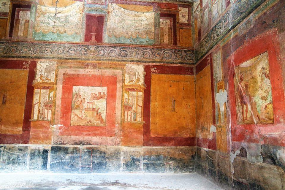 Frescos, casa de Pompeya
