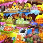 Frutas tropicales, gastronomía de Brasil