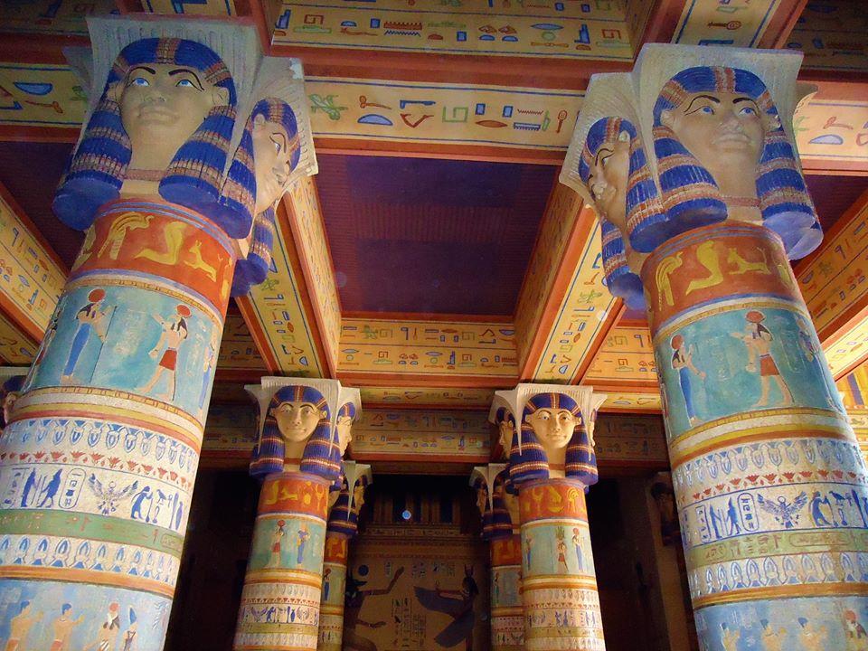 Templo egipcio, Atlas Studios