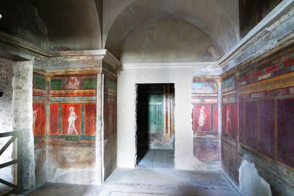Villa de los Misterios, Pompeya