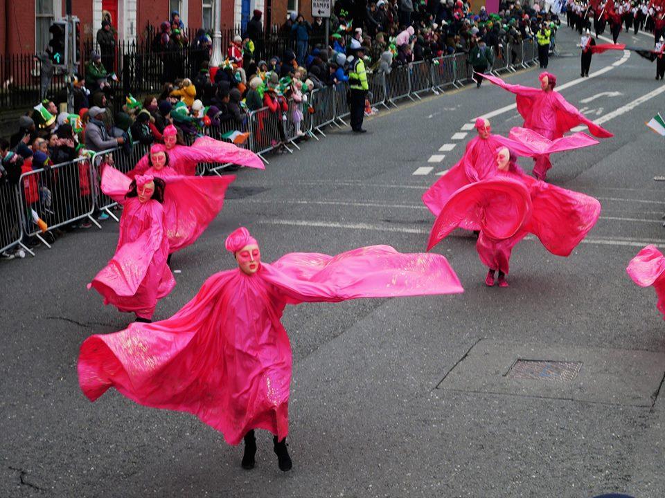 derroche de color en el Desfile de San Patricio en Dublín