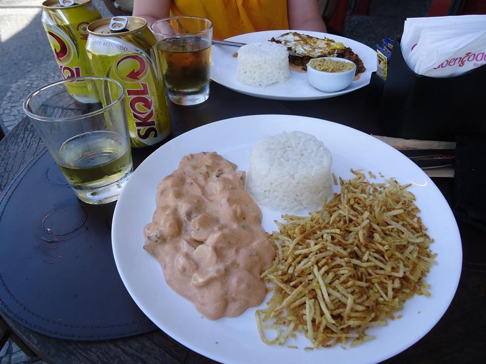 strogonoff, gastronomía de Brasil