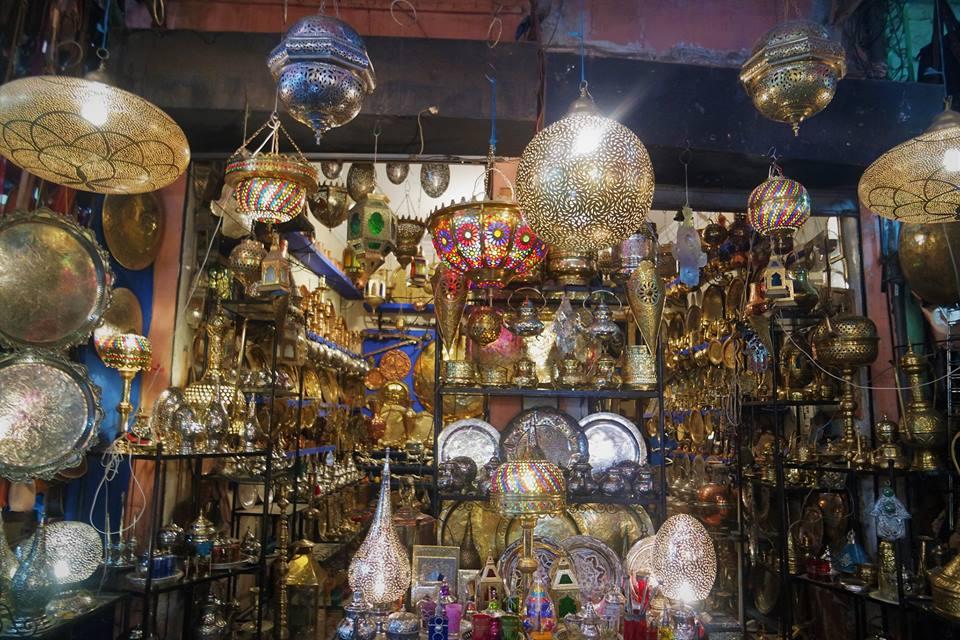 Lámparas de Marrakech