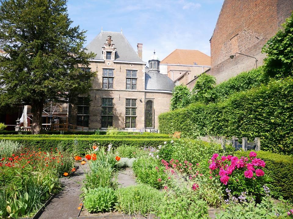 Jardín de la casa de Rubens