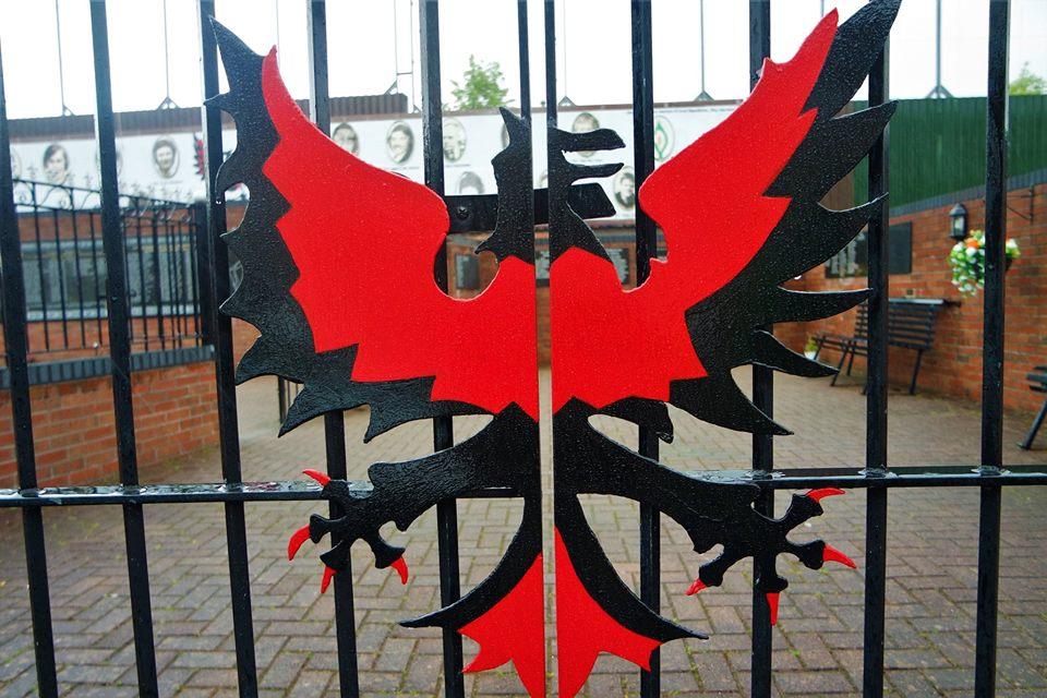 Verja, Memoriales de Belfast