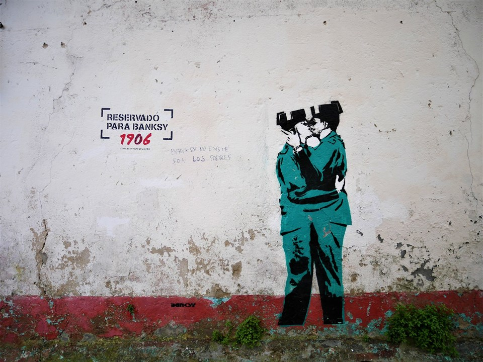 Banksy en Ferrol