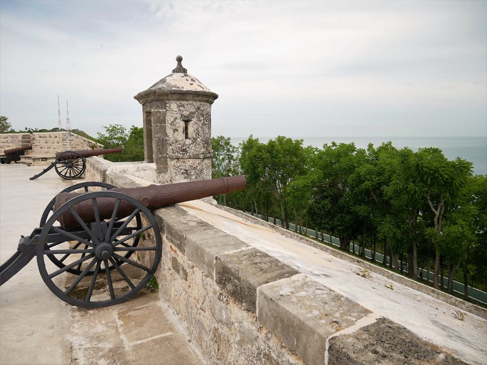 Cañón, fuertes de Campeche