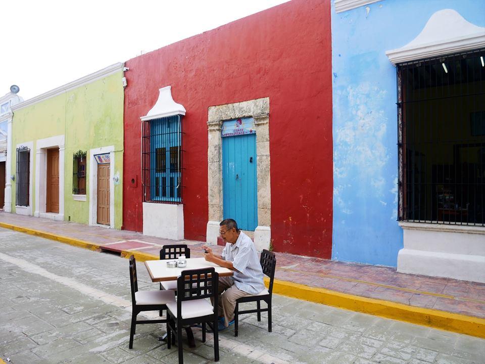 Calles de Campeche, México