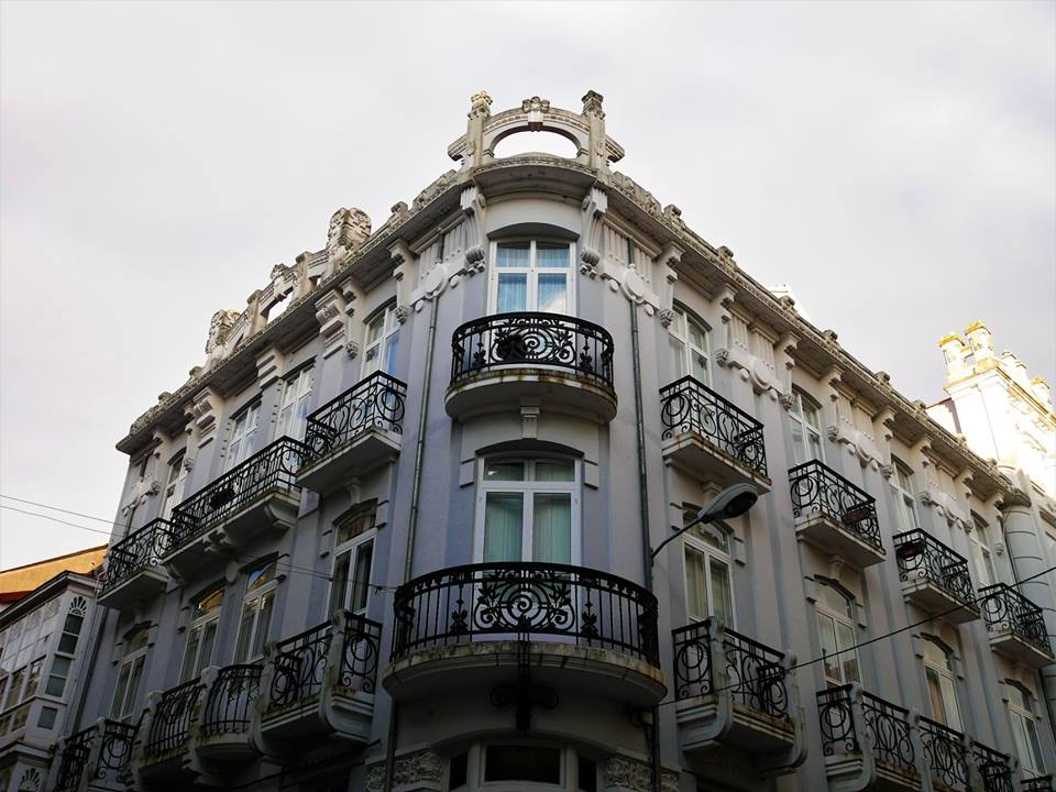 Edificios modernistas de Ferrol