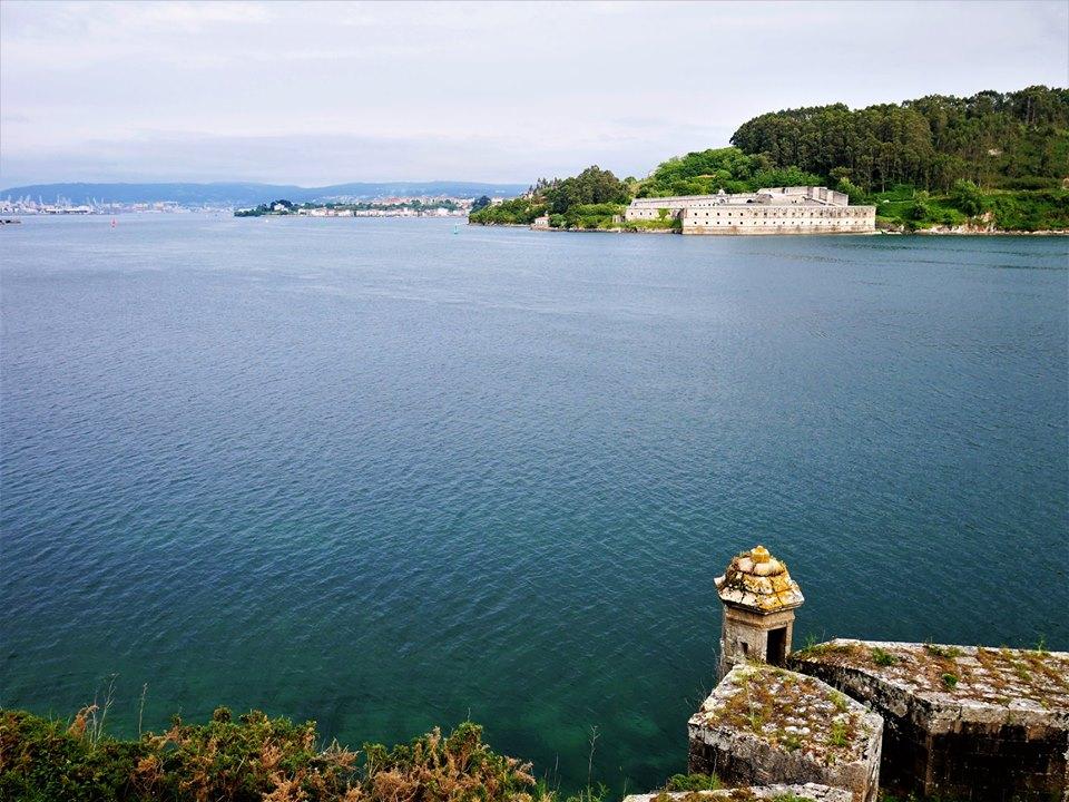 Fortaleza y cárcel de La Palma desde el castillo de San Felipe