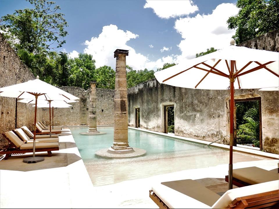 Piscina de la Hacienda Uayamón, Campeche