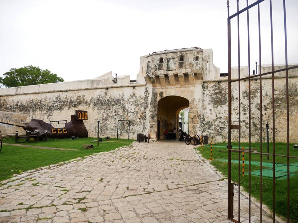 Puerta de entrada muralla de Campeche