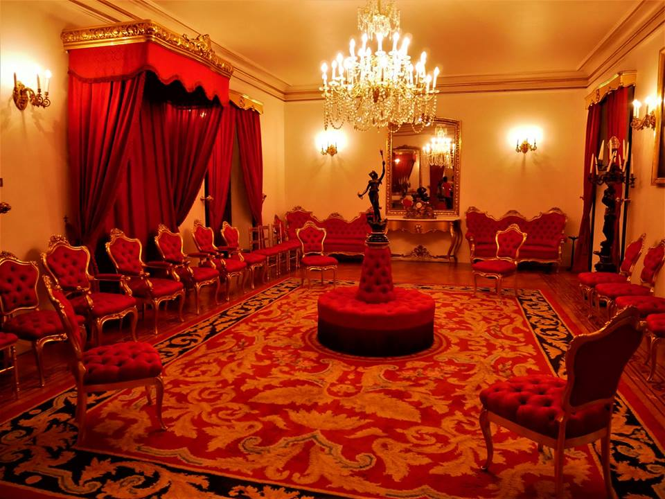 Salón del Trono, Palacio de Capitanía de Ferrol