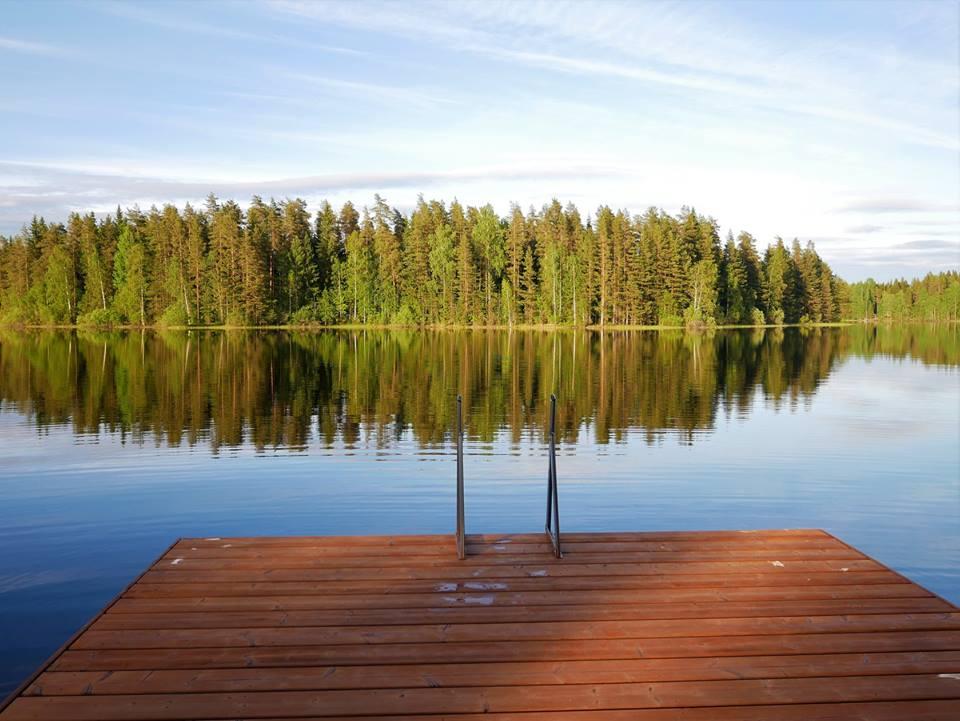 Verano en los lagos de Finlandia