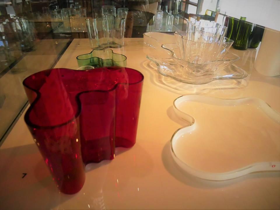 Vidrio, diseño de Alvar Aalto