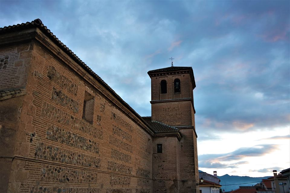 Iglesia de Mondújar, valle de Lecrín
