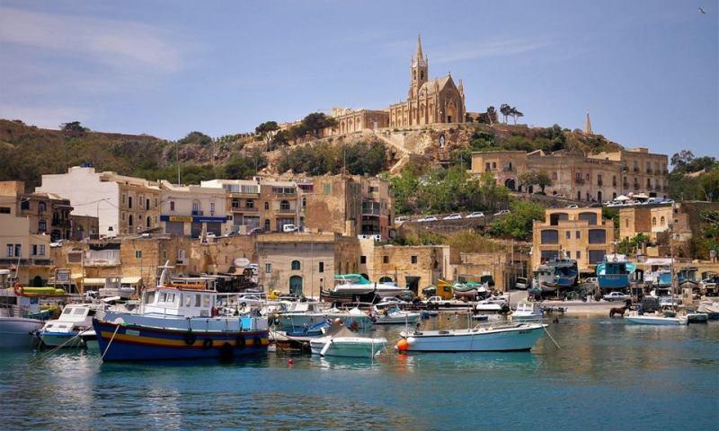 Isla de Gozo, Malta, Gozo y Comino