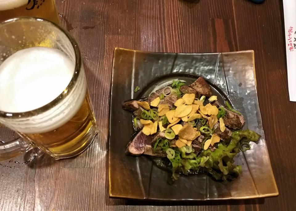Cerveza y atún