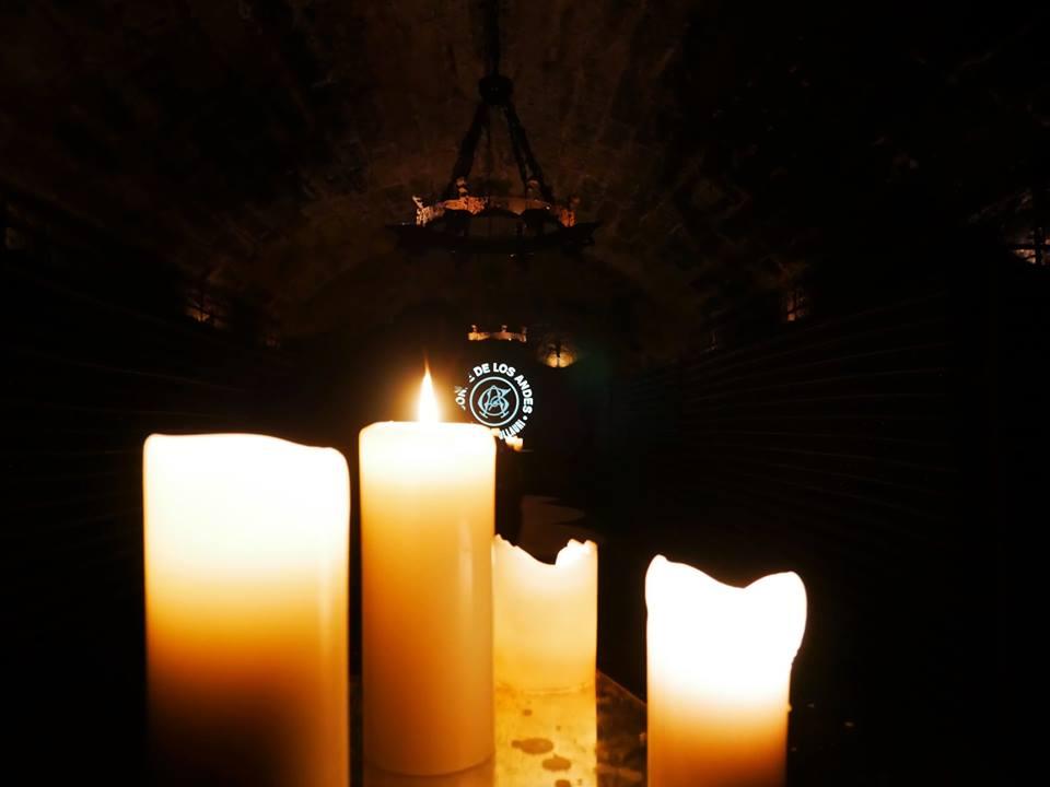 Cata a la luz de las velas