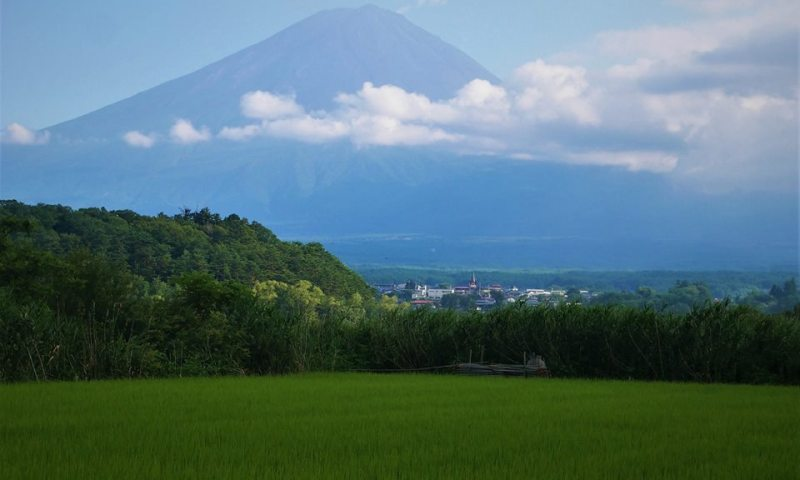 El monte Fuji, Kawaguchiko