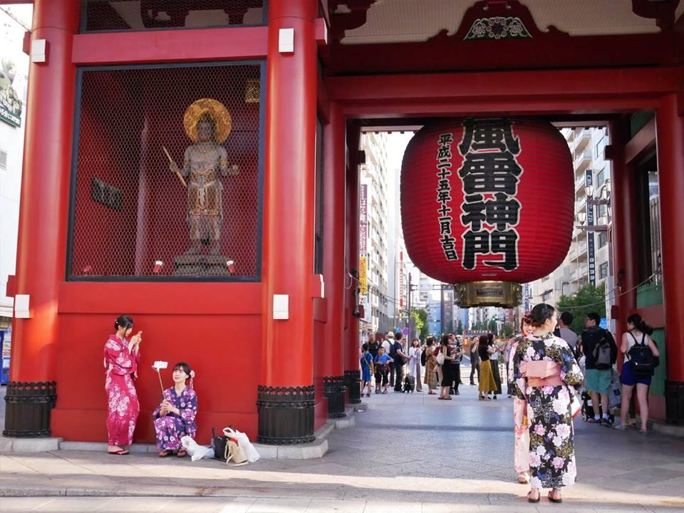 Entrada a Senso-ji desde Asakusa